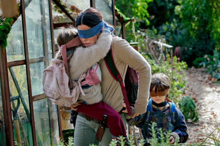 Sandra Bullock in the Netflix film, 'Bird Box'.