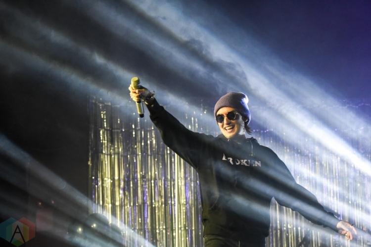 TORONTO, ON - JANUARY 24: Gnash performs at The Mod Club in Toronto on January 24, 2019. (Photo: Jaime Espinoza/Aesthetic Magazine)