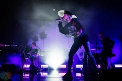 TORONTO, ON - JANUARY 23: MØ performs at Danforth Music Hall in Toronto on January 23, 2019. (Photo: Angelo Marchini/Aesthetic Magazine)