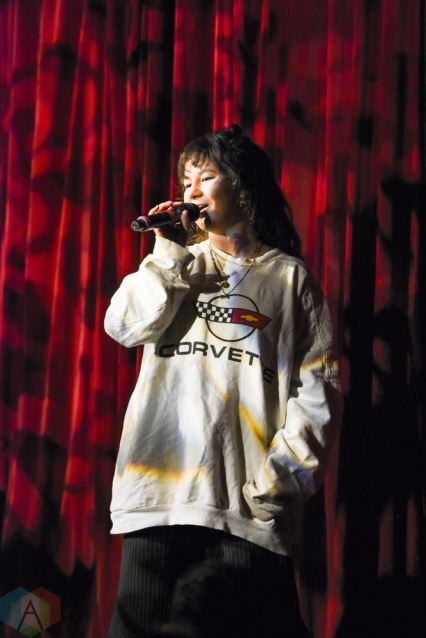 TORONTO, ON - JANUARY 24: Mallrat performs at The Mod Club in Toronto on January 24, 2019. (Photo: Jaime Espinoza/Aesthetic Magazine)