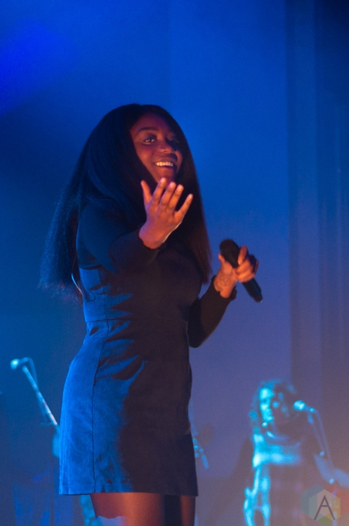 TORONTO, ON - JANUARY 03: Noname performs at Danforth Music Hall in Toronto on January 03, 2019. (Photo: Janine Wong/Aesthetic Magazine)