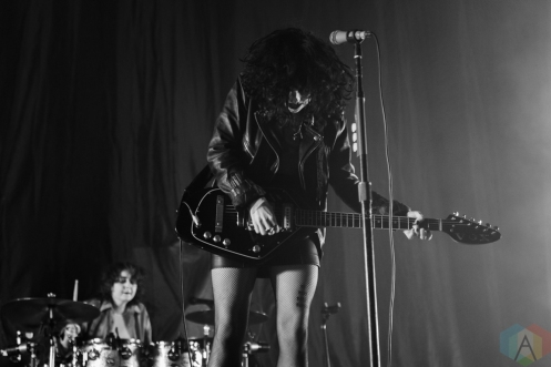 MANCHESTER, UK - JANUARY 24: Pale Waves performs at Manchester Arena in Manchester, UK on January 24, 2019. (Photo: Priti Shikotra/Aesthetic Magazine)