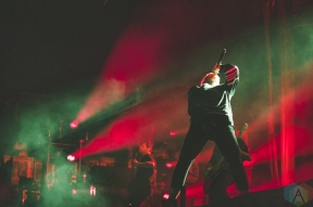 CHICAGO, IL - FEBRUARY 05: Bring Me The Horizon performs at Aragon Ballroom in Chicago on February 05, 2019. (Photo: Rob Haberman/Aesthetic Magazine)