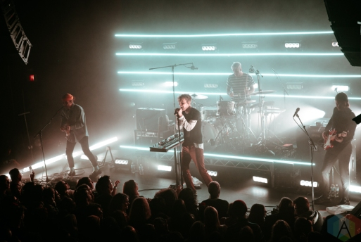VANCOUVER, BC - FEBRUARY 24: Coin performs at Venue in Vancouver on February 24, 2019. (Photo: Kiri Anne/Aesthetic Magazine)