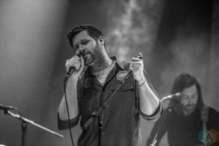 TORONTO, ON - JANUARY 31: Dan Mangan performs at Danforth Music Hall in Toronto on January 31, 2019. (Photo: Joanna Glezakos/Aesthetic Magazine)