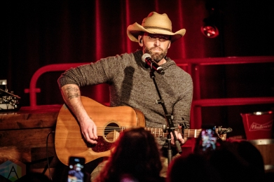 TORONTO, ON - FEBRUARY 05: Dean Brody and Dallas Smith perform at Jasper Dandy in Toronto on February 05, 2019 as part of the Live Nation Country Megaticket launch concert. (Photo: David McDonald/Aesthetic Magazine)