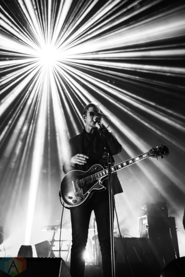 SAINT PAUL, MN - FEBRUARY 05: Interpol performs at the Palace Theatre in St. Paul, MN on February 05, 2019. (Photo: Sam Ungemach/Aesthetic Magazine)