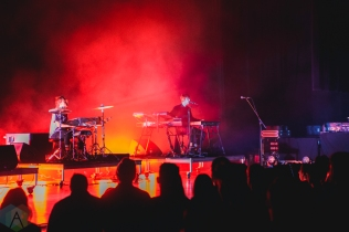 TORONTO, ON - FEBRUARY 27: James Blake performs at Sony Centre in Toronto on February 27, 2019. (Photo: Anton Mak/Aesthetic Magazine)