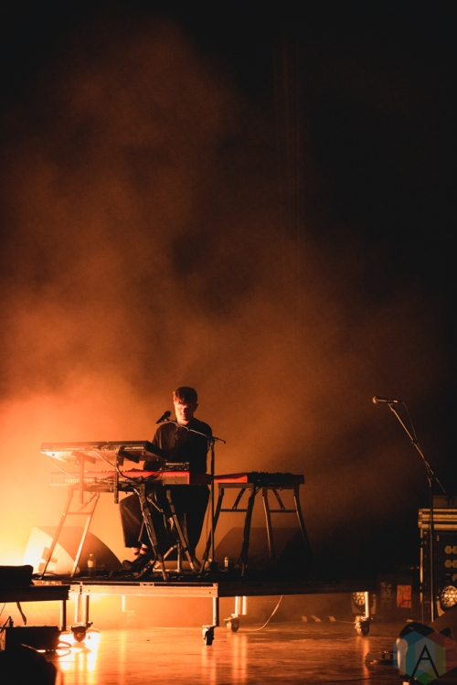 TORONTO, ON - FEBRUARY 27: James Blake performs at Sony Centre in Toronto on February 27, 2019. (Photo: Anton Mak/Aesthetic Magazine)