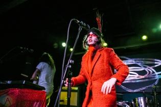 TORONTO, ON - FEBRUARY 22: Le Butcherettes performs at Drake Hotel in Toronto on February 22, 2019. (Photo: Jaime Espinoza/Aesthetic Magazine)