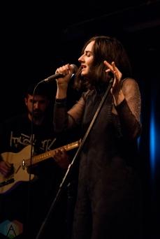 TORONTO, ON - JANUARY 25: Meg Mac performs at Rivoli in Toronto on February 20, 2019. (Photo: Morgan Hotston/Aesthetic Magazine)