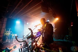 TORONTO, ON - FEBRUARY 10: Robert Delong performs at the Velvet Underground in Toronto on February 10, 2019. (Photo: Michael Hurcomb/Aesthetic Magazine)