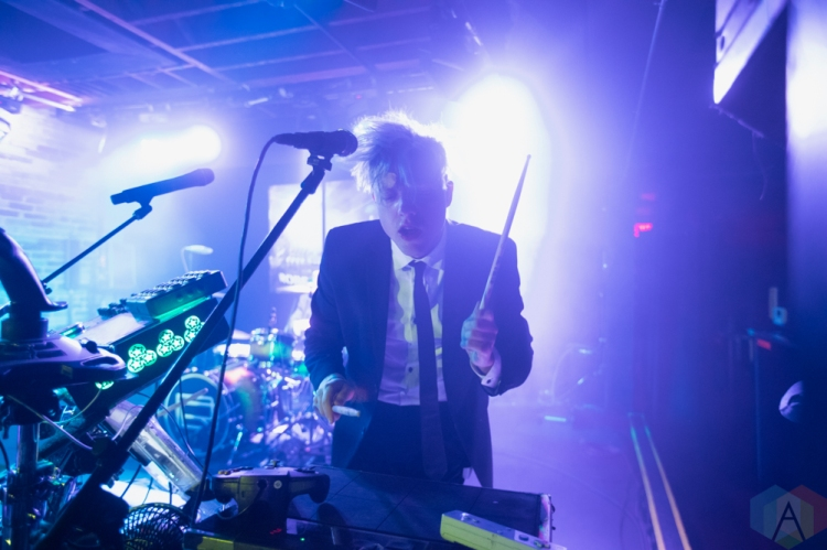 TORONTO, ON - FEBRUARY 10: Robert Delong performs at the Velvet Underground in Toronto on February 10, 2019. (Photo: Michael Hurcomb/Aesthetic Magazine)