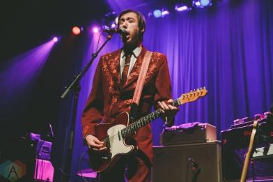 TORONTO, ON - FEBRUARY 17: The Sadies performs at Danforth Music Hall in Toronto on February 17, 2019. (Photo: Lauren Garbutt/Aesthetic Magazine)