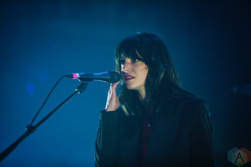 TORONTO, ON - FEBRUARY 11: Sharon Van Etten performs at Danforth Music Hall in Toronto on February 11, 2019. (Photo: Michael Hurcomb/Aesthetic Magazine)