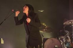 TORONTO, ON - FEBRUARY 11: Sharon Van Etten performs at Danforth Music Hall in Toronto on February 11, 2019. (Photo: Michael Hurcomb/Aesthetic Magazine)