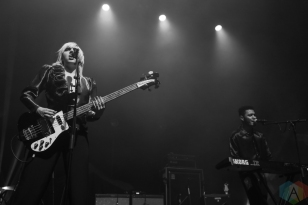 SAINT PAUL, MN - FEBRUARY 05: Sunflower Bean performs at the Palace Theatre in St. Paul, MN on February 05, 2019. (Photo: Sam Ungemach/Aesthetic Magazine)