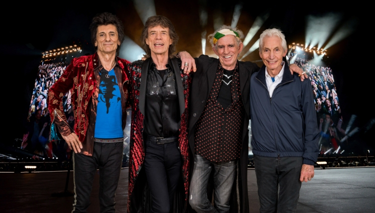 The Rolling Stones. (Photo: Dave Hogan)