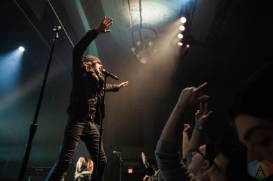 TORONTO, ON - FEBRUARY 22: Watsky performs at Danforth Music Hall in Toronto on February 22, 2019. (Photo: Lauren Garbutt/Aesthetic Magazine)