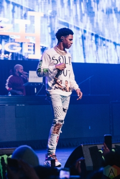TORONTO, ON - MARCH 12: A Boogie Wit Da Hoodie performs at Rebel in Toronto on March 12, 2019. (Photo: Jenna Hum/Aesthetic Magazine)