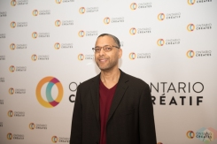 TORONTO, ON - MARCH 07: Andy Milne attends the Ontario Creates 2019 JUNO award nominees reception in Toronto on March 07, 2019. (Photo: Kirsten Sonntag/Aesthetic Magazine)