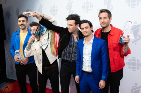 Photos: 2019 Juno Awards Red Carpet – Arkells, Sarah McLachlan, Jessie Reyez, Brett Kissel