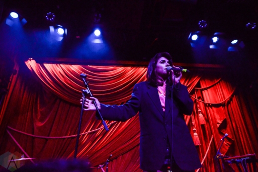 NEW YORK, NEW YORK - MARCH 22: Charlotte OC performs at Public Arts in New York City on March 22, 2019. (Photo: Alx Bear/Aesthetic Magazine)