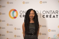 TORONTO, ON - MARCH 07: Chelsea Stewart attends the Ontario Creates 2019 JUNO award nominees reception in Toronto on March 07, 2019. (Photo: Kirsten Sonntag/Aesthetic Magazine)