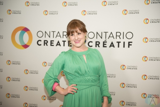 TORONTO, ON - MARCH 07: Diana Panton attends the Ontario Creates 2019 JUNO award nominees reception in Toronto on March 07, 2019. (Photo: Kirsten Sonntag/Aesthetic Magazine)