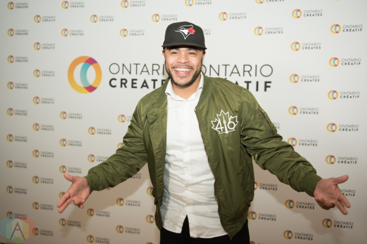 TORONTO, ON - MARCH 07: Duane Gibson attends the Ontario Creates 2019 JUNO award nominees reception in Toronto on March 07, 2019. (Photo: Kirsten Sonntag/Aesthetic Magazine)