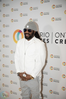TORONTO, ON - MARCH 07: Exco Levi attends the Ontario Creates 2019 JUNO award nominees reception in Toronto on March 07, 2019. (Photo: Kirsten Sonntag/Aesthetic Magazine)