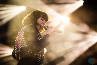 TEMPE, AZ - MARCH 02: Grouplove performs at Innings Festival in Tempe, Arizona on March 02, 2019. (Photo: Tony Contini/Aesthetic Magazine)