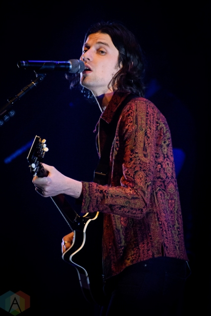 TORONTO, ON - MARCH 14: James Bay performs at Sony Centre in Toronto on March 14, 2019. (Photo: Angelo Marchini/Aesthetic Magazine)