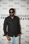 TORONTO, ON - MARCH 07: Kafinal attends the Ontario Creates 2019 JUNO award nominees reception in Toronto on March 07, 2019. (Photo: Kirsten Sonntag/Aesthetic Magazine)