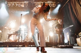 TORONTO, ON - MARCH 20: Maggie Rogers performs at Phoenix Concert Theatre in Toronto on March 20, 2019. (Photo: Jenna Hum/Aesthetic Magazine)