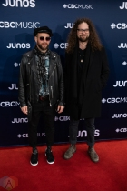 LONDON, ON - MARCH 17: Monster Truck attends the 2019 Juno Awards red carpet at Budweiser Gardens in London, Ontario on March 17, 2019. (Photo: Brendan Albert/Aesthetic Magazine)
