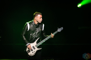 TORONTO, ON - MARCH 28: Muse performs at Scotiabank Arena in Toronto on March 28, 2019. (Photo: Dale Benvenuto/Aesthetic Magazine)