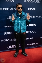 LONDON, ON - MARCH 17: Nav attends the 2019 Juno Awards red carpet at Budweiser Gardens in London, Ontario on March 17, 2019. (Photo: Brendan Albert/Aesthetic Magazine)