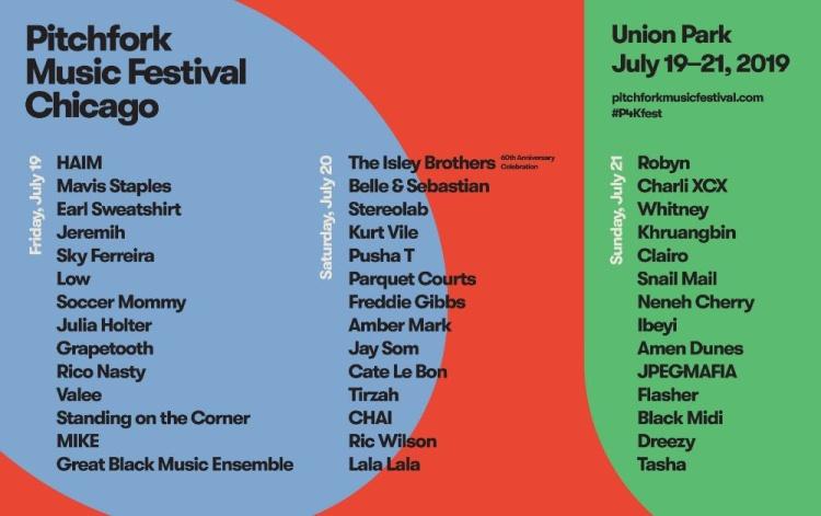 Pitchfork Fest 2019