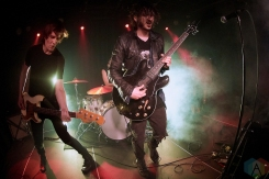 TORONTO, ON - MARCH 12: Reignwolf performs at the Drake Hotel in Toronto on March 12, 2019. (Photo: Morgan Harris/Aesthetic Magazine)