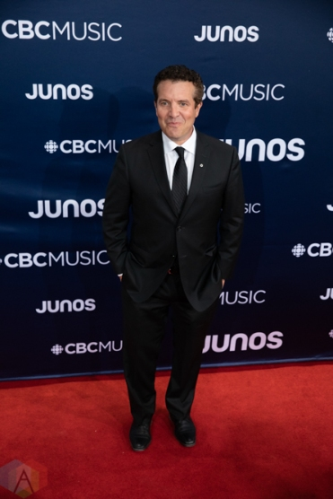 LONDON, ON - MARCH 17: Rick Mercer attends the 2019 Juno Awards red carpet at Budweiser Gardens in London, Ontario on March 17, 2019. (Photo: Brendan Albert/Aesthetic Magazine)