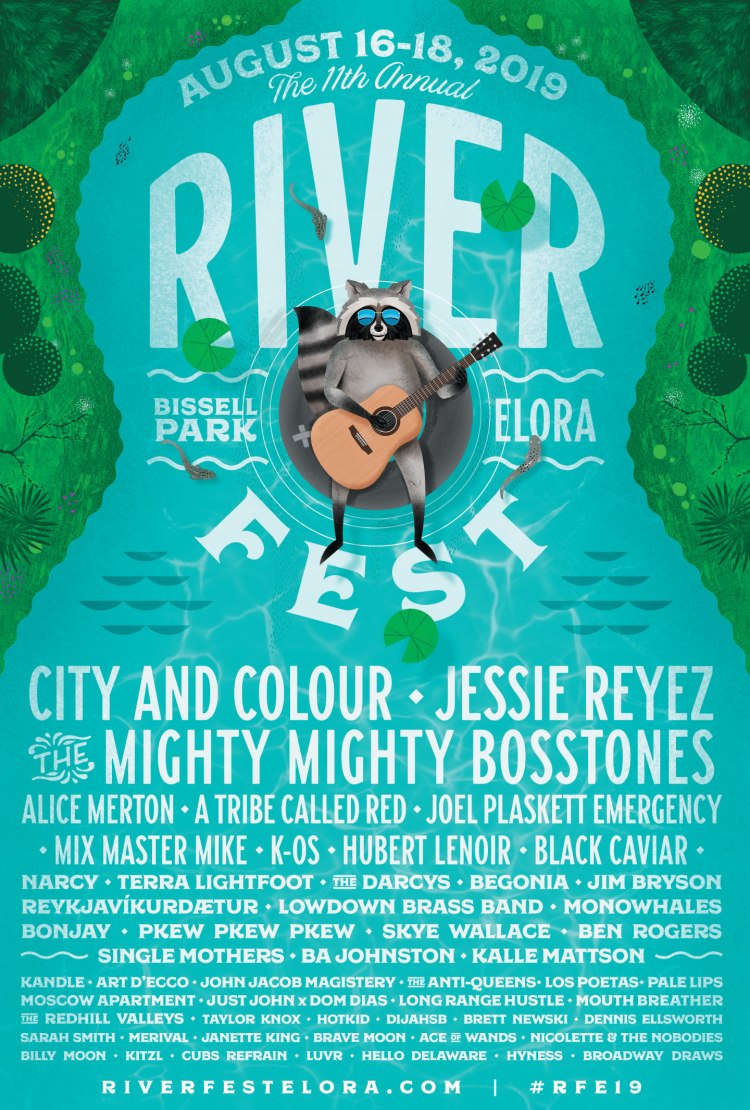 Contest: Win 2 GA Weekend Passes + Camping to Riverfest
