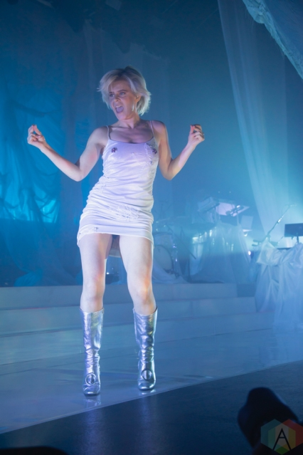 TORONTO, ON - MARCH 14: Robyn performs at Rebel in Toronto on March 14, 2019. (Photo: Michael Hurcomb/Aesthetic Magazine)