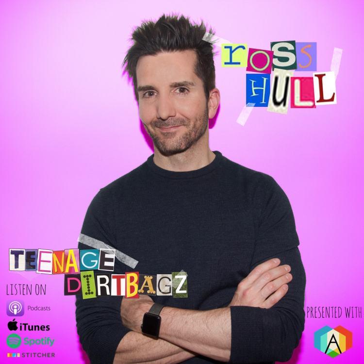 Ross Hall on Teenage Dirtbagz Podcast