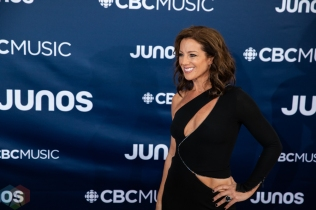LONDON, ON - MARCH 17: Sarah McLachlan attends the 2019 Juno Awards red carpet at Budweiser Gardens in London, Ontario on March 17, 2019. (Photo: Brendan Albert/Aesthetic Magazine)