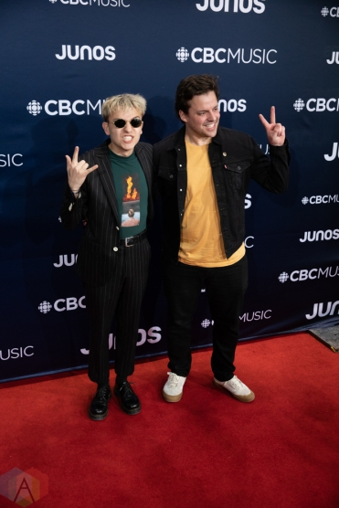 LONDON, ON - MARCH 17: Scott Helman attends the 2019 Juno Awards red carpet at Budweiser Gardens in London, Ontario on March 17, 2019. (Photo: Brendan Albert/Aesthetic Magazine)