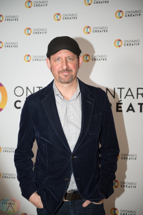 TORONTO, ON - MARCH 07: Steve Strongman attends the Ontario Creates 2019 JUNO award nominees reception in Toronto on March 07, 2019. (Photo: Kirsten Sonntag/Aesthetic Magazine)