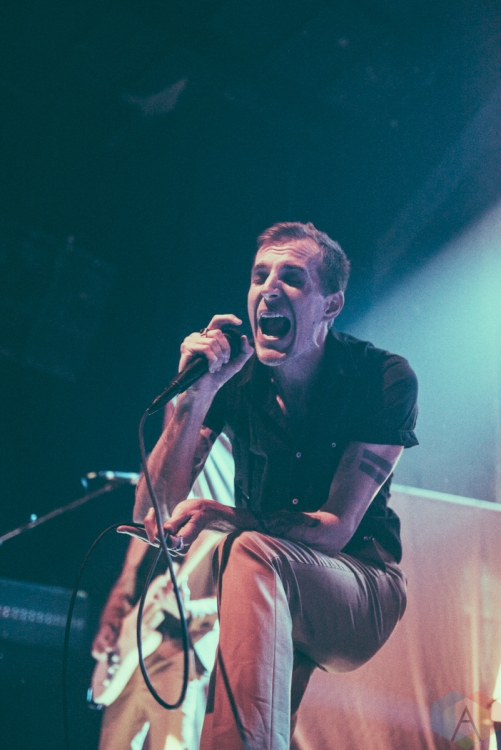 NEW YORK, NY - MARCH 28: The Maine performs at Gramercy Theatre in New York City on March 28, 2019. (Photo: Samantha Lichtenstein/Aesthetic Magazine)