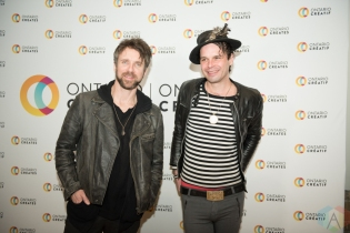 TORONTO, ON - MARCH 07: The Trews attend the Ontario Creates 2019 JUNO award nominees reception in Toronto on March 07, 2019. (Photo: Kirsten Sonntag/Aesthetic Magazine)