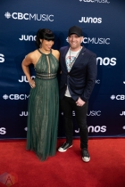 LONDON, ON - MARCH 17: Tim Hicks attends the 2019 Juno Awards red carpet at Budweiser Gardens in London, Ontario on March 17, 2019. (Photo: Brendan Albert/Aesthetic Magazine)